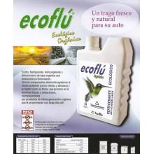Glicial Ecoflu - Liquido Refrgerante 900 c.c. ECOLOGICO ROJO