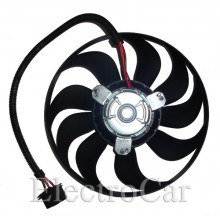 ELECTROVENTILADOR - BORA - GOLF IV - NEW BEATLE 9 ASPAS 290mm