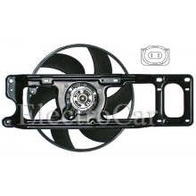 ELECTROVENTILADOR - CLIO II S/AA - TWINGO C/SOPORTE (GATE)