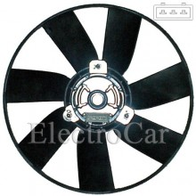 ELECTROVENTILADOR - POLO M/N  S/AA - GOLF M/V S/AA 2 VEL.